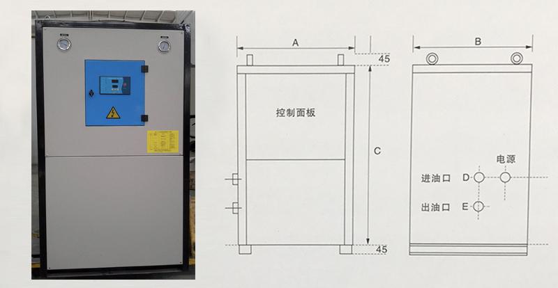 智能单机组油冷机