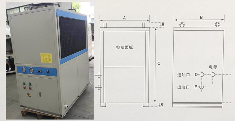 LYD400型油冷机