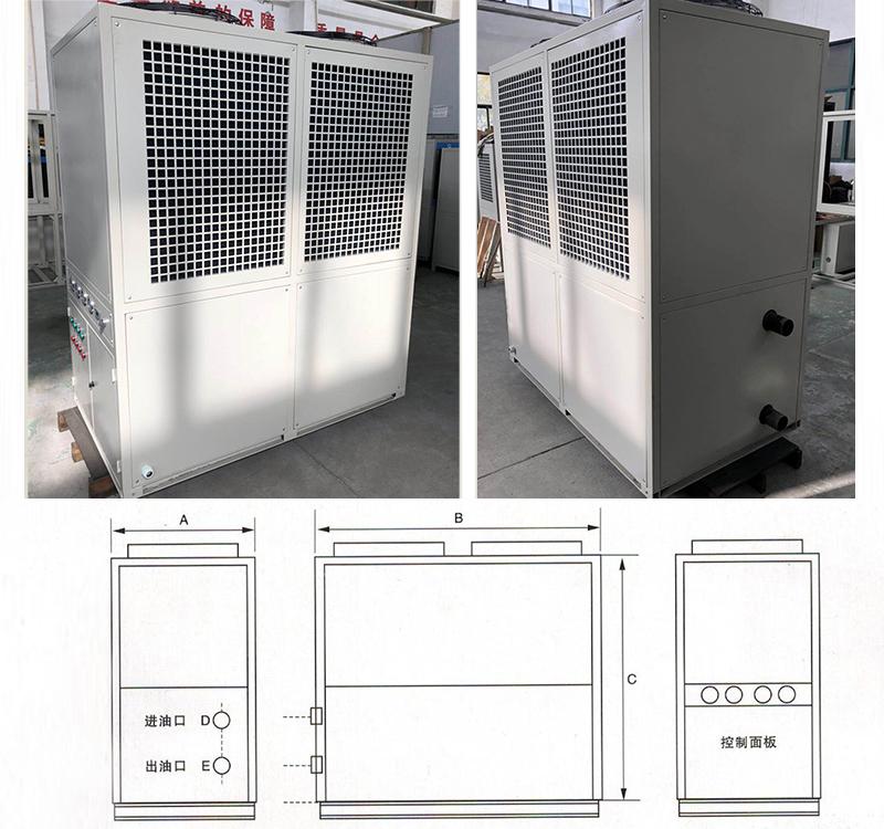 LYD500-1200型油液冷却机