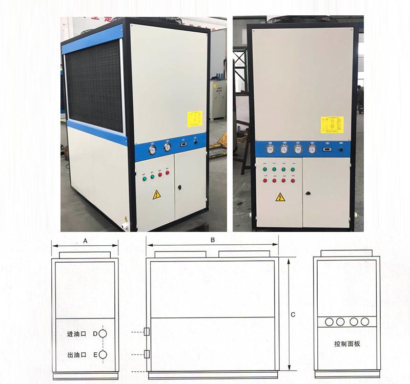 双机组油冷机尺寸